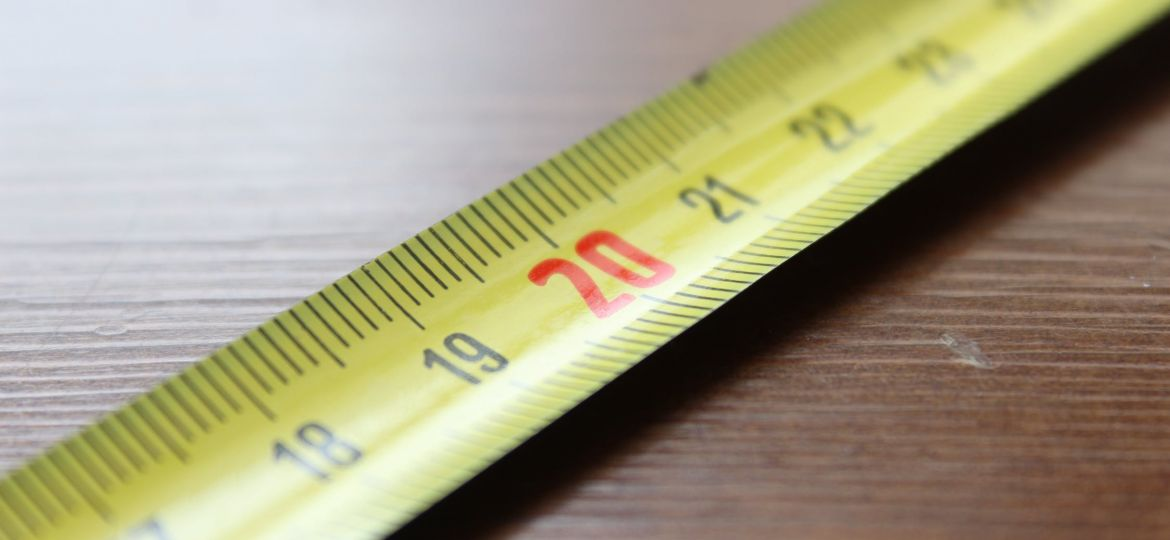 Image of a measuring tape