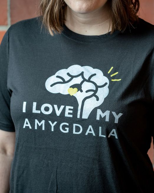 I Love My Amygdala T-shirt