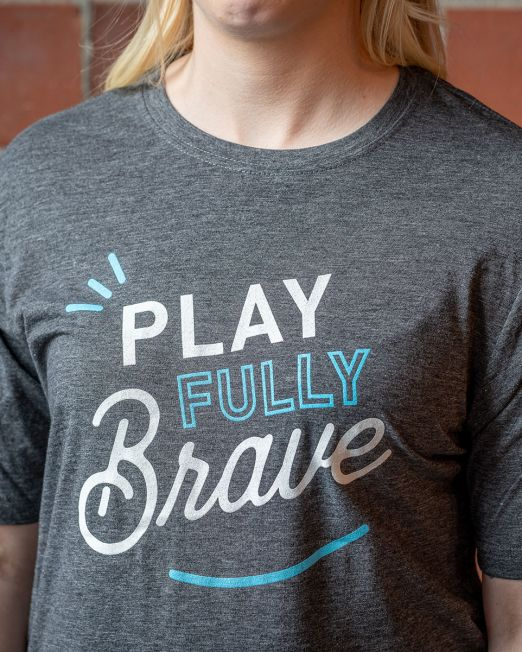 Play Fully Brave T-shirt