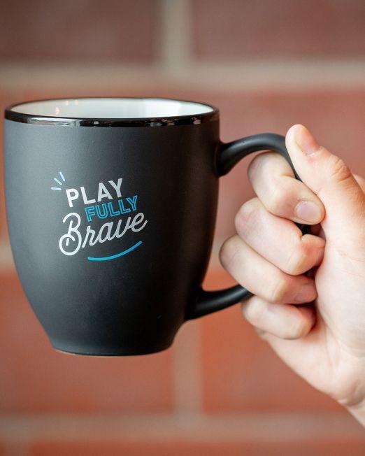 Play Fully Brave Mug