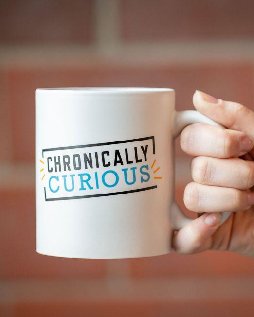 Chronically Curious Mug