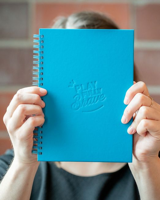 Play Fully Brave Notebook
